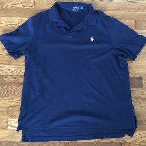 Ralph Lauren Navy Polo Prima Soft Touch